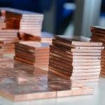 Copper holecut punching machine